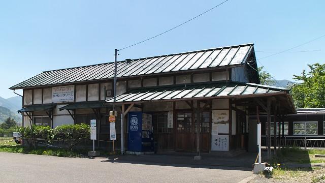 (旧)信濃川田駅