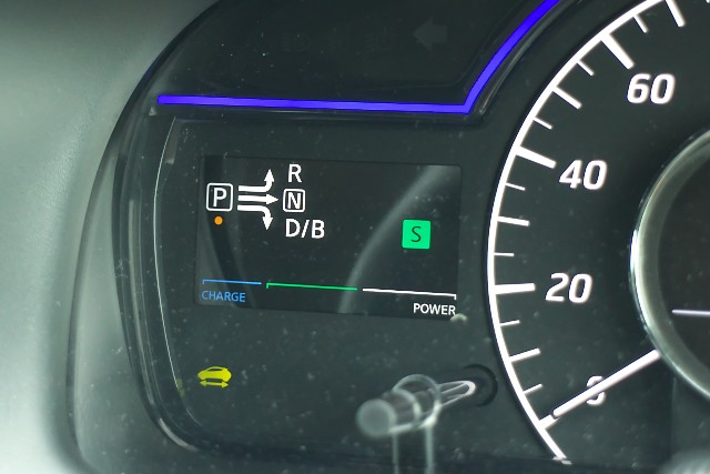 Nissan Note e-POWER indicator