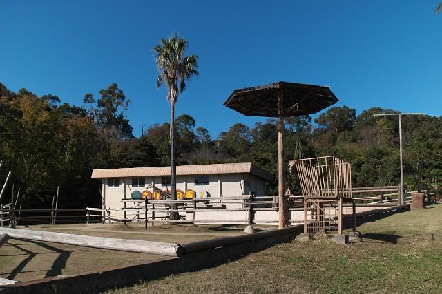 みさき公園 キリンの家