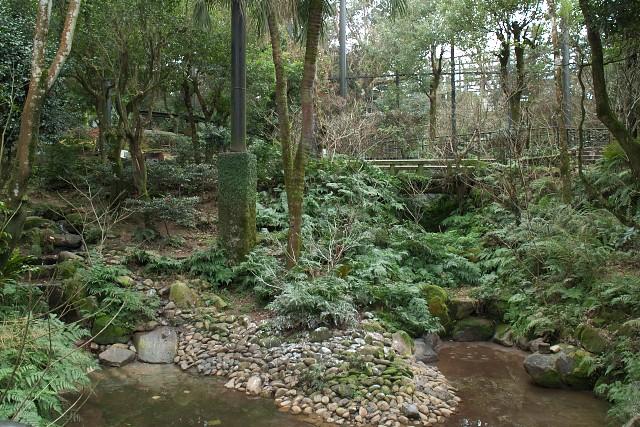 平川動物公園 フライングケージ