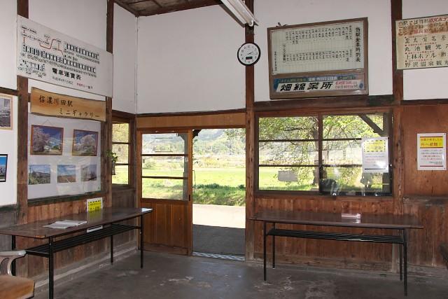 長野電鉄 旧・信濃川田駅
